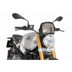 Puig Carbon Headlight Number Plate BMW NineT