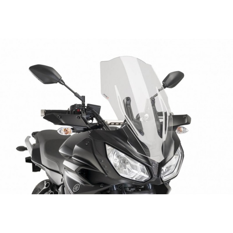 Puig Clear Touring Screen Yamaha FJ-07 MT-07 Tracer 16-18
