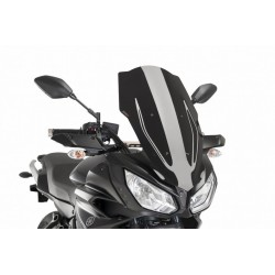 Puig Black Touring Screen Yamaha FJ-07 MT-07 Tracer