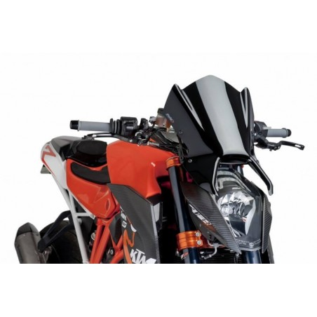Puig Black windscreen KTM 1290 Superduke