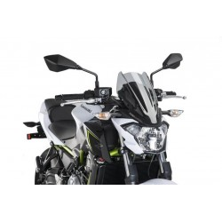 Puig Light Smoke Sport Screen Kawasaki Z650