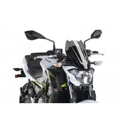 Puig Dark Smoke Sport Screen Kawasaki Z650
