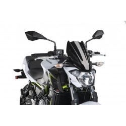 Puig Black Sport Screen Kawasaki Z650