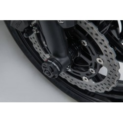 SW-Motech fork axle sliders Kawasaki Z650