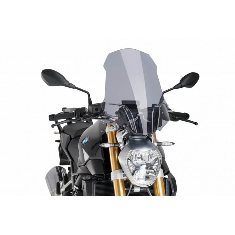 Puig Light Smoke Touring windscreen BMW R1200R LC