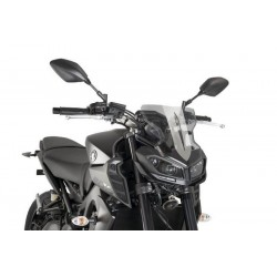 Puig Light Smoke Sport Screen Yamaha FZ-09 MT-09 2017