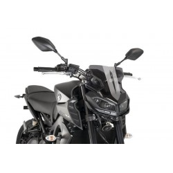 Puig Dark Smoke Sport Screen Yamaha FZ-09 MT-09 2017