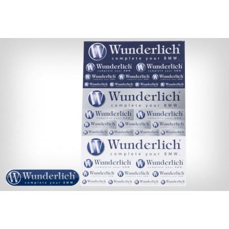 Wunderlich sticker set