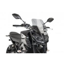 Puig Light Smoke Touring Screen Yamaha MT-09 FZ-09 2017