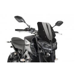Puig Black Touring Screen Yamaha MT-09 FZ-09 2017