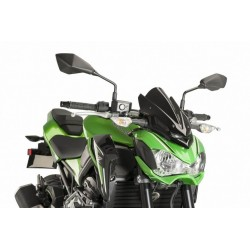 Puig Black Sport Screen Kawasaki Z900