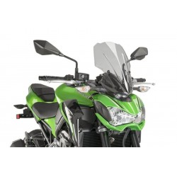 Puig Light Smoke Touring windscreen Kawasaki Z900