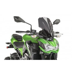 Puig Dark Smoke Touring windscreen Kawasaki Z900