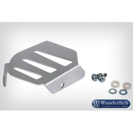 Wunderlich Silver exhaust flap cover BMW R1200GS LC