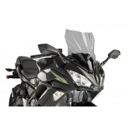 Puig Light Smoke Sport Screen Kawasaki Ninja 650