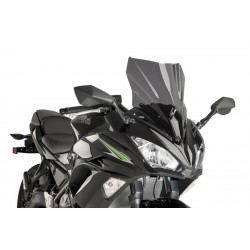 Puig Dark Smoke Sport Screen Kawasaki Ninja 650