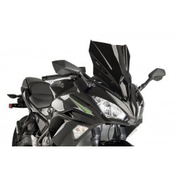 Puig Black Sport Screen Kawasaki Ninja 650