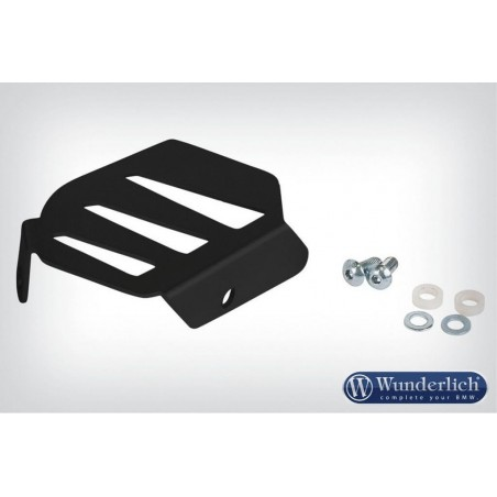 Wunderlich Silver exhaust flap cover BMW R1200R LC