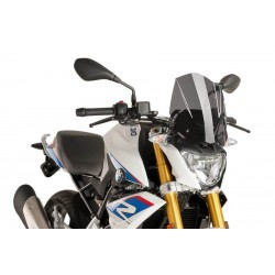 Puig Dark Smoke Sport Screen BMW G310 R