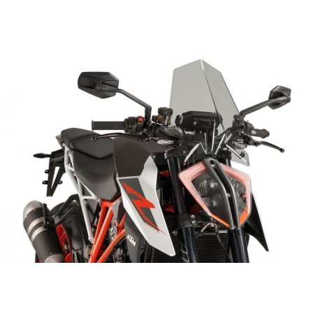 Puig Light Smoke Screen KTM 1290 Superduke R 17-