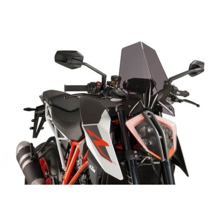 Puig Dark Smoke Screen KTM 1290 Superduke R 17-