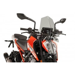 Puig Light Smoke Sport Screen KTM 125 390 Duke 17-