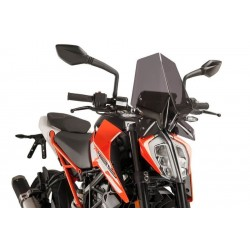 Puig Dark Smoke Sport Screen KTM 125 390 Duke 17-