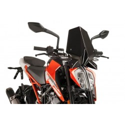 Puig Black Sport Screen KTM 125 390 Duke 17-