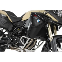 Hepco Becker Black Tank Bars BMW F800GS ADV