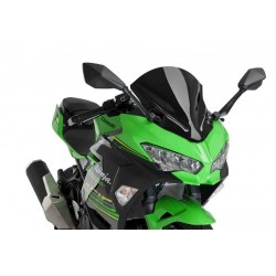 Puig Black Racing Screen Kawasaki Ninja 400