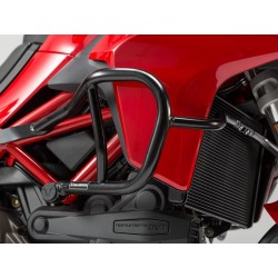SW-Motech Black crash bars Ducati Multistrada DVT
