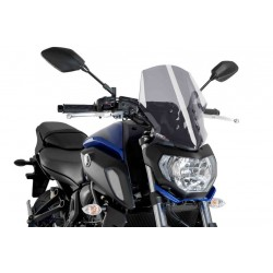 Puig Light Smoke Touring windscreen Yamaha FZ-07 18-