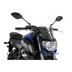 Puig Clear Sport Screen Yamaha FZ07 2018-