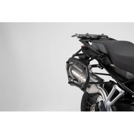 SW-Motech Trax Adventure sidecases Silver BMW F750GS F850GS