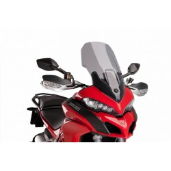 Puig Light Smoke Touring windscreen Ducati 1200 Multistrada DVT 15-16