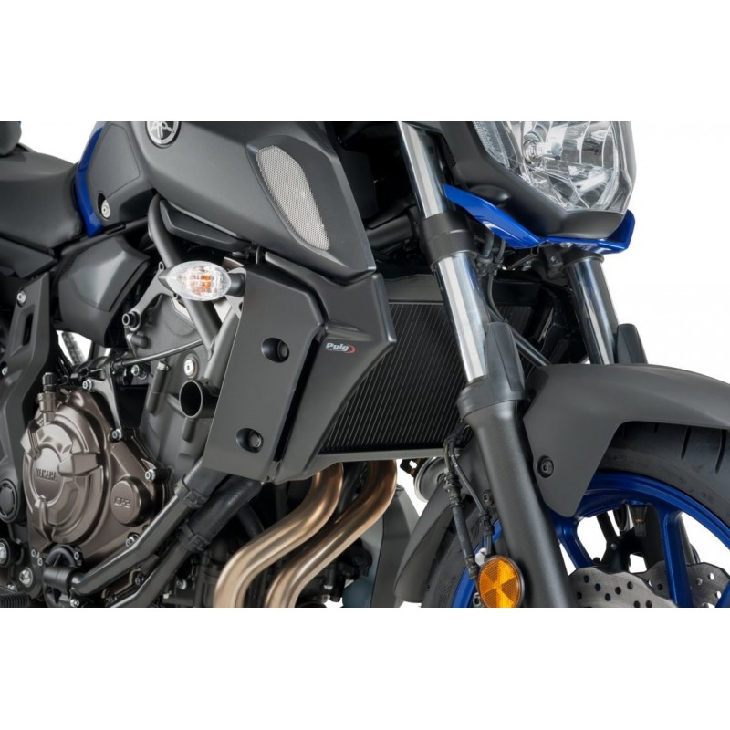 Puig Radiator Side Panels For Yamaha Mt07 Fz 07 2018