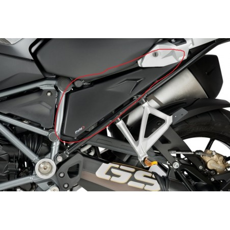 Puig Black Side Infill Panels BMW R1250GS 19-
