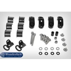 BMW light mounting kit Black for Wunderlich tank bars