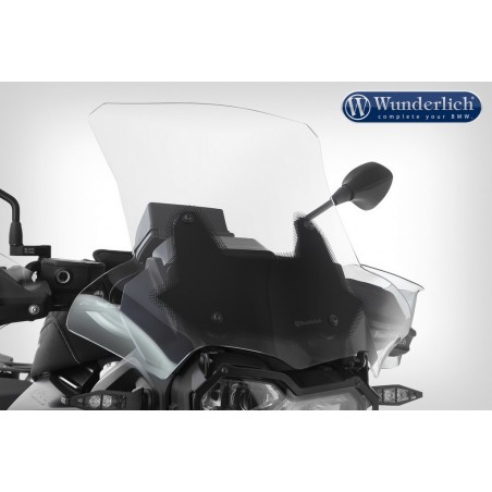 Wunderlich Clear Marathon Screen BMW F750GS F850GS Carrier Long