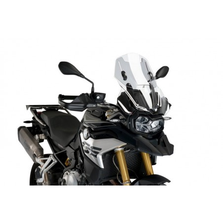 Puig Clear Adjustable Touring Screen BMW F850GS