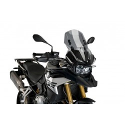 Puig Light Smoke Adjustable Touring Screen BMW F850GS