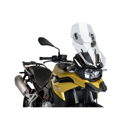Puig Clear Adjustable Touring Screen BMW F750GS
