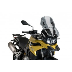 Puig Light Smoke Adjustable Touring Screen BMW F750GS