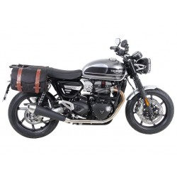 Hepco Becker Legacy Black Side Bags Triumph Speed Twin