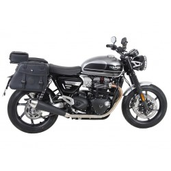 Set de Alforjas Hepco Becker Rugged Negro Triumph Speed Twin