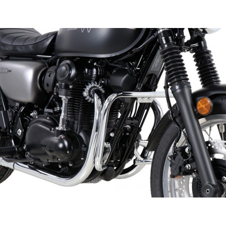 Hepco Becker Chrome Crash Bars Kawasaki W800 Street - Cafe