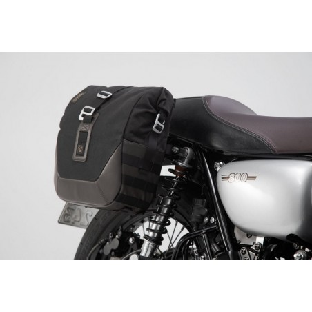 SW-Motech Black Legend Gear Side Bags Set Kawasaki Vulcan S