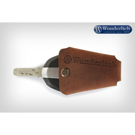 Wunderlich BMW Brown Leather Key Holder