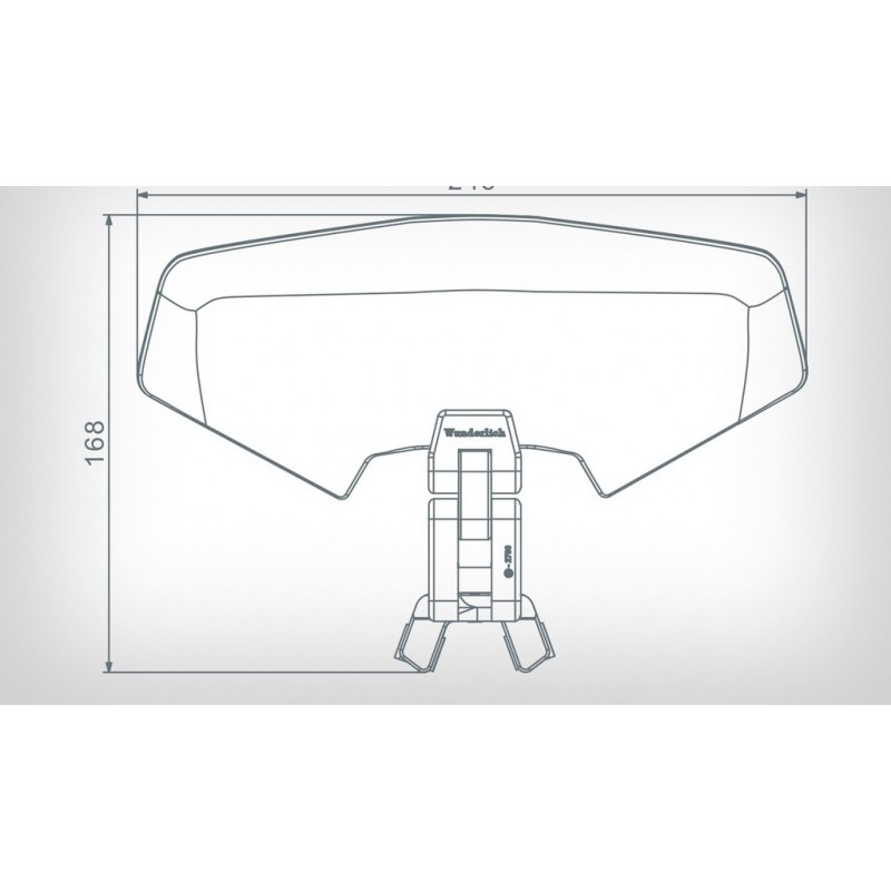 Wunderlich Vario 3D Clear screen deflector