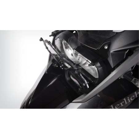 Wunderlich Clear folding headlight protection BMW R1200GS LC Adventure